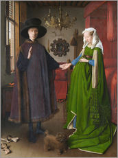 Wall sticker  Arnolfini Wedding - Jan van Eyck