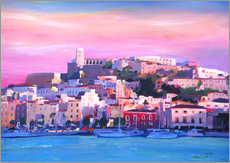 Gallery print  Ibiza Old Town and Harbour - Pearl Of the Mediterranean Sea - M. Bleichner