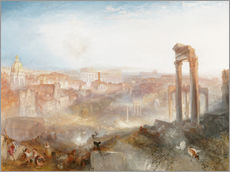 Wall sticker  Modern Rome - Joseph Mallord William Turner