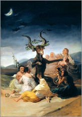 Wall sticker  Witches' Sabbath - Francisco José de Goya