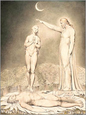 Wall sticker  the creation of eve - William Blake