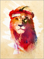 Wall sticker  Gym lion - Robert Farkas