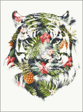 Wall sticker  Tropical Tiger - Robert Farkas