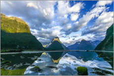 Wall sticker  Milford Sound III - Thomas Hagenau