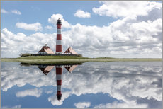 Gallery print  Lighthouse at the Northsea - Filtergrafia