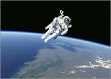 Wall sticker  Spacewalk - Detlev van Ravenswaay