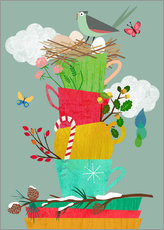 Wall sticker Four Seasons