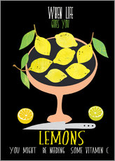 Wall sticker When life gives you lemons