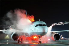 Wall sticker  De-icing of an Airbus A320 - HADYPHOTO by Hady Khandani
