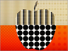 Gallery print  apple impression - Rosalina Nikolova