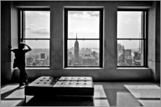 Wall sticker  New York, Top of the Rock - Thomas Splietker