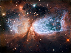 Wall sticker  Nebula Sh 2-106 - Nasa