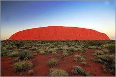 Gallery print  Ayers Rock at sunrise - I. Schulz