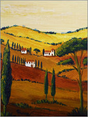 Gallery print  Tuscany Mini - Christine Huwer