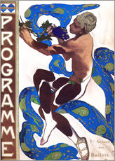 Wall sticker  Afternoon of a Faun - Leon Nikolajewitsch Bakst