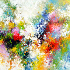 Gallery print  Abstract star - Theheartofart Gena