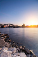 Gallery print  Cologne on the Rhine-shore - rclassen