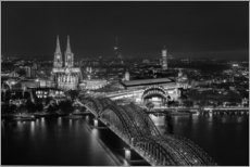 Gallery print  Cologne black and white - rclassen