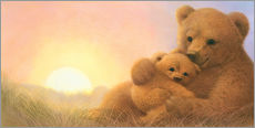 Wall Stickers  Bear & Cub - John Butler