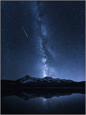 Gallery print  Galaxies Reflection - Toby Harriman