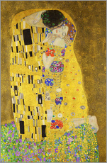 Wall sticker  The Kiss (portrait) - Gustav Klimt