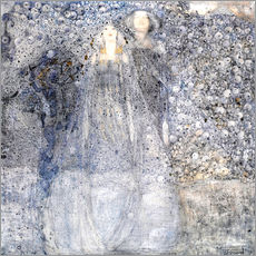 Wall Stickers  Silver Apples - Margaret MacDonald Mackintosh