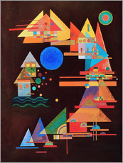 Wall sticker  Peaks in the bow - Wassily Kandinsky