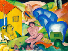 Canvas print  The Dream - Franz Marc