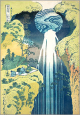 Gallery print  Waterfall of Amida at the Kiso Street - Katsushika Hokusai