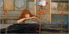 Gallery print  I lock my door upon myself - Fernand Khnopff