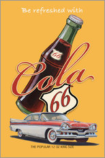 Wall Stickers  Cola 66 Advertising - Georg Huber