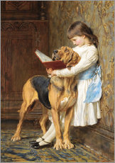 Gallery print  Compulsory education - Briton Riviere
