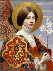 Wall sticker  Angel of annunciation - Eleanor Fortescue-Brickdale