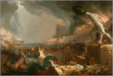 Gallery print  Fall of Rome (Destruction) - Thomas Cole