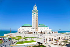 Wall sticker  Hassan II Mosque - Gavin Hellier