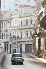 Gallery print  Taxi driving in Havana - Lee Frost