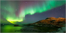 Gallery print  Northern Lights near Tromso, Norway - Louise Murray