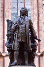 Gallery print  Statue of Bach, Leipzig - Michael Snell
