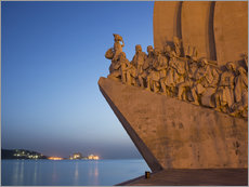 Wall sticker  Monument to Discoveries, Belem, Lisbon, Portugal, Europe - Angelo Cavalli