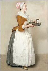 Wall Stickers  The Chocolate Girl - Jean Etienne Liotard