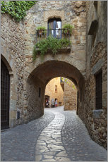 Gallery Print  Alley in Pals, Catalonia - Stuart Black
