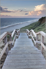 Wall sticker  Stairs down to the beach, Sylt - Markus Lange