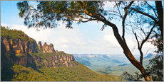 Gallery print  Panoramic photo of the Three Sisters - Matthew Williams-Ellis