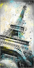 Gallery print  City Art PARIS Eiffeltower IV - Melanie Viola