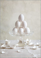 Wall sticker  Still Life with Eggs - Nailia Schwarz