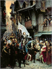 Gallery print  The arrival of Joan d'Arc - Jean-Jacques Scherrer
