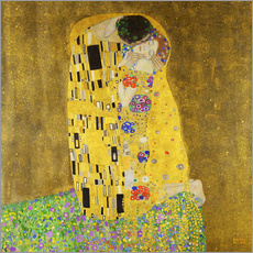 Wall sticker  The kiss - Gustav Klimt