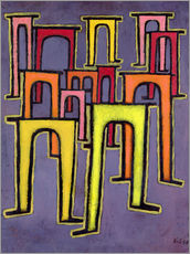 Gallery print  Revolution of the Viaduct - Paul Klee