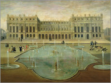 Gallery print  Chateau de Versailles from the Garden Side - French School