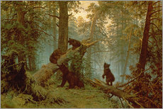 Gallery print  Morning in a pine forest - Ivan Ivanovich Shishkin
